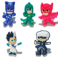 5Pcs lot Hot Cartoon PVC Cartoon Shoe Charms Ornaments Buckl...