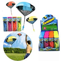 Parachute with Figure Soldier Flying Toys for Kids Children ...