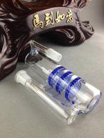 Commercio all'ingrosso di alta qualità Ashcatche 14.5-14.5 tripla HC tre favi cenere bicchiere di vetro collettore accessori per il fumo gorgogliatore trasporto libero