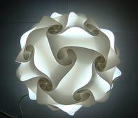 DIY Modern Hanger Bal Novel IQ Lamp Puzzel Hangers Wit Kleur Hanglampen Maat 25 cm / 30cm / 40cm Jigsaw Infinity Lamp 9 Kleuren beschikbaar