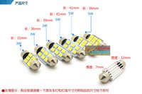 30pcs lot 31 36 39 41mm SJ 5630 6SMD 6LED Canbus LED OCB Fes...