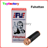 Fuhana 1: 1 Clone 510 Thread Mod E Cigarrillo Machanical Mods Clone EE.UU. Manhattan Mod Fibra de Carbono Fuhattan Mods Magnet Bottom y Cig Mods
