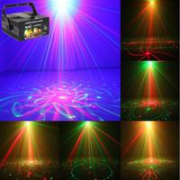 Клуб бар RG лазер синий LED освещение сцены DJ Home Party 5 объектив 80 Шаблоны показать профессиональный проектор свет дискотека EU / US / UK / AU