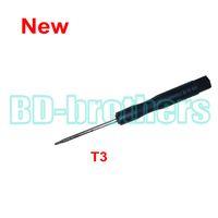 Nuovo Stype Black T3 Cacciavite Torx Cacciavite Strumento aperto per riparazione del disco del circuito stampato del disco rigido 3000pcs / lot