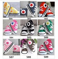 Baby crochet sneakers first walk shoes infants toddlers kid ...
