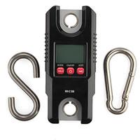 Mini Freeshipping Heavy Duty Crochet électronique numérique Hanging Dynamomètre Balances industrielles 300KG / 100 g