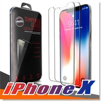 For iPhone X 8 7 6 6S Tempered Glass Screen Protector Plus S...