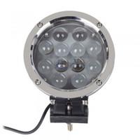 7inch 60W LED Arbeits-Licht-Nebellicht Punkt / Flut-Lichtstrahl für die Offroad-Lkw Einsatz 12st * 5W CREE LED IP67 5100LM LED-treibendes Licht