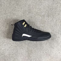 12 chaussures de basketball Master signées Top Factory Version, baskets noires de Michael Sports uniquement