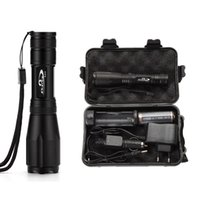 wholesale Ekaiou k20 Zoomable Tactical led Flashlights torch...