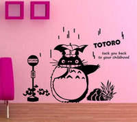 Anime Cartoon Jumping Totoro Children' s Room or Baby Nu...