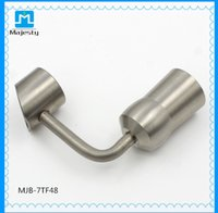 2016 vente chaude Nouveau titane ongle Domeless Titanium Nail Grade 2 ongles pour 14mm 18mm Femme et Homme jiont utiliser
