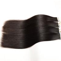 Extensiones remy del pelo del bebé de la cutícula humana real del 100% la cinta de la PU adentro para las señoras hermosas pelo de la trama de la piel adhesiva, 2g / pc80pcs / Lot, DHL libre