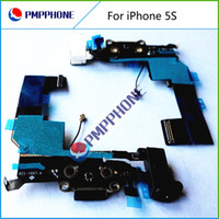 Dock Connector Charging Port Flex Cable for iPhone 5S Headph...