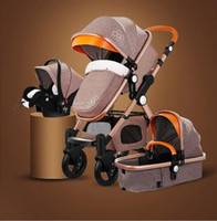 Freeshipping Higher Land- scape Baby Stroller Portable Foldin...