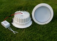 MOQ100 LED Встраиваемый светильники лампы переменного тока 85-265В 9W 12W 15W 18W High Power Watt Потолочный свет вниз Освещение WW NW CW Крытый Украшение CE РОШ