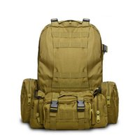 Camouflage Pack Army Fans Tactical Backpack Combination Outd...