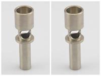 재고 ! 새로운 18mm 플럭스 티타늄 네일 domeless ti nail vs 티타늄 카브 캡, 세라믹 네일, 빠른 배송