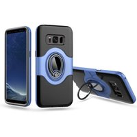 Hybrid Case For Samsung Galaxy S8 Plus Car Magnetic Ring Hol...