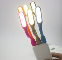 USB LED Lámpara de luz para portátil Laptop Tablet PC USB Energía portátil Flexible Lámpara de LED