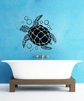 sea ocean animal wall sticker large turtle wall decals decor...