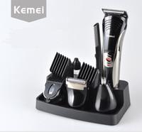 Nouveau 7 en 1 électrique tondeuse à cheveux famille soins personnels tondeuse à cheveux tout en un homme kit de toilettage rasoir coupe de cheveux tondeuse rasage