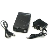 Batterie Li-ion rechargeable DC 12V 6800mAh Li-ion Batterie Portable Super Capacité Puissance pour Moniteur Caméra CCTV