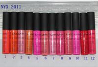 2017 Hot NYX macia batom Matte Lip Creme Lipstick Maquiagem Charming longa duração diária partido marca Glossy Maquiagem Batom Lip Gloss DHL