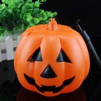 wholesale halloween pumpkin lantern pumpkins large luminous portable party bar pumpkin pumpkin lights portable lights - Large Plastic Pumpkins