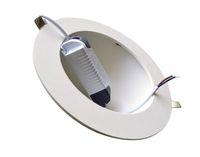 Diodo emissor de luz difundido Recessed Downlight AC85-265V 4W 8W 12W 18W 30W Branco morno Branco fresco Brilhante redondo para baixo iluminando a lâmpada 2 anos de garantia CE ROSH