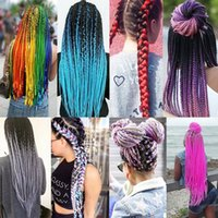Kanekalon Synthetic braiding hair 24inch 100g Ombre two tone...