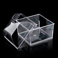 Pudim De Geléia de plástico Transparente Cup Eco Friendly Tiramisu Bolo Cup Mold Ice Cream Sobremesa Decoração SK741