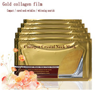Hot Sale 1000PCS Gold Crystal Collagen Neck Mask Gold Collag...