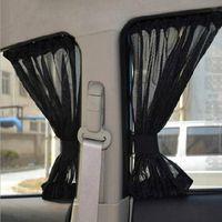 سيارة الستار سيارة ظلة نافذة جانبية التظليل الستائر غطاء السيارات الجانب الأمامي الزجاج الشمس قناع الشمس واقية uv protecor