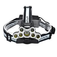 9 CREE LED Headlamp XML T6 Headlight Led Head Lamp Camping L...