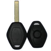 10 قطع 3-Button مفتاح السيارة حالة استبدال غطاء شل مع شفرة تقطيعه ل ألمانيا سيارة bm ** سلسلة 3 ، 5 ، 7 e39 e53 e60 e63