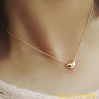 도매 - 패션 쥬얼리 하트 턱받이 펜던트 우아한 여성의 초커 목걸이 4Tza