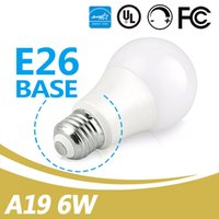Wholesale A19 Globe Bulbs 280 Degree 2700- 5000K E26 6W Dimma...