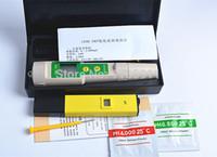 Wholesale-2PCS /ロット(1ピーデジタルPHメーター/テスター0-14ポケットペン水族館+ 1ピース高品質169E ORP /レドックステスター防水ORPメーター)
