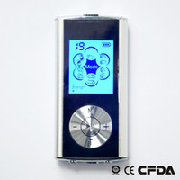 ¡CALIENTE! Última versión DUAL TENS MACHINE DIGITAL MASSAGE + masajeador corporal relax y masajeador de pies + masajeador de acupuntura Retroiluminación LCD Envío de la gota