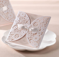 Wedding Invitations laser cut Wedding Invitation Card Hollow...