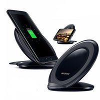 QI Fast Wireless charger For Galaxy S8 Plus Quick Charger Do...