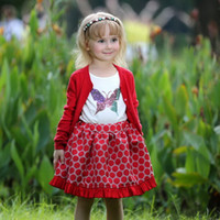 Pettigirl Retail New Arrival Girls Christmas A- Line Skirts 1...