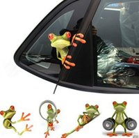 Popular 3D Car Sticker And Decals Peep Frog Funny Car Sticke...