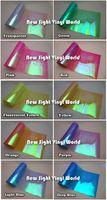 10 Rolls / Lot 10 colores efecto del arco iris luz del coche camaleón película de la linterna luz trasera película del tinte color del vinilo cambio de tamaño: 0.3 * 10M