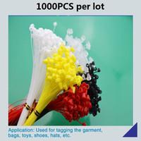 1000 패킹 7 인치 / 18cm 플라스틱 PP 상표 꼬리표 밧줄, 모자, 장난감, 단화, 부대, 옷 etc.를위한 꼬리표 선