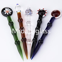 Wholesale Glass Dabber Tool for Oil and Wax glass oil rigs t...