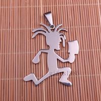 2in hatchetman ICP coiffure cool musique pendentif et collier de 30 pouces