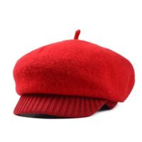 Berretti in feltro di lana imbottiti in feltro di lana per cappelli imbottiti in lana bordati all 'ingrosso-vintage