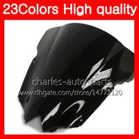 100% nuevo parabrisas de la motocicleta para YAMAHA R6 YZFR6 12 13 14 15 YZF-R6 YZF600 YZF R6 2012 2013 2014 2015 Chrome Negro humo claro parabrisas